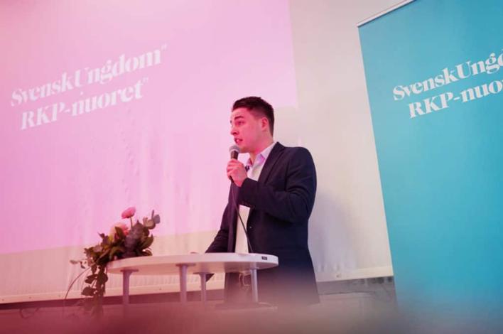 Christoffer Ingo omvald till förbundsordförande för Svensk Ungdom