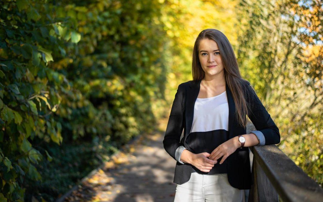 Frida Sigfrids vill leda Svensk Ungdom
