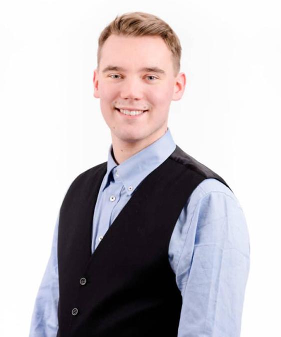 Theo Sjöblom är ny ordförande för SU i Åboland