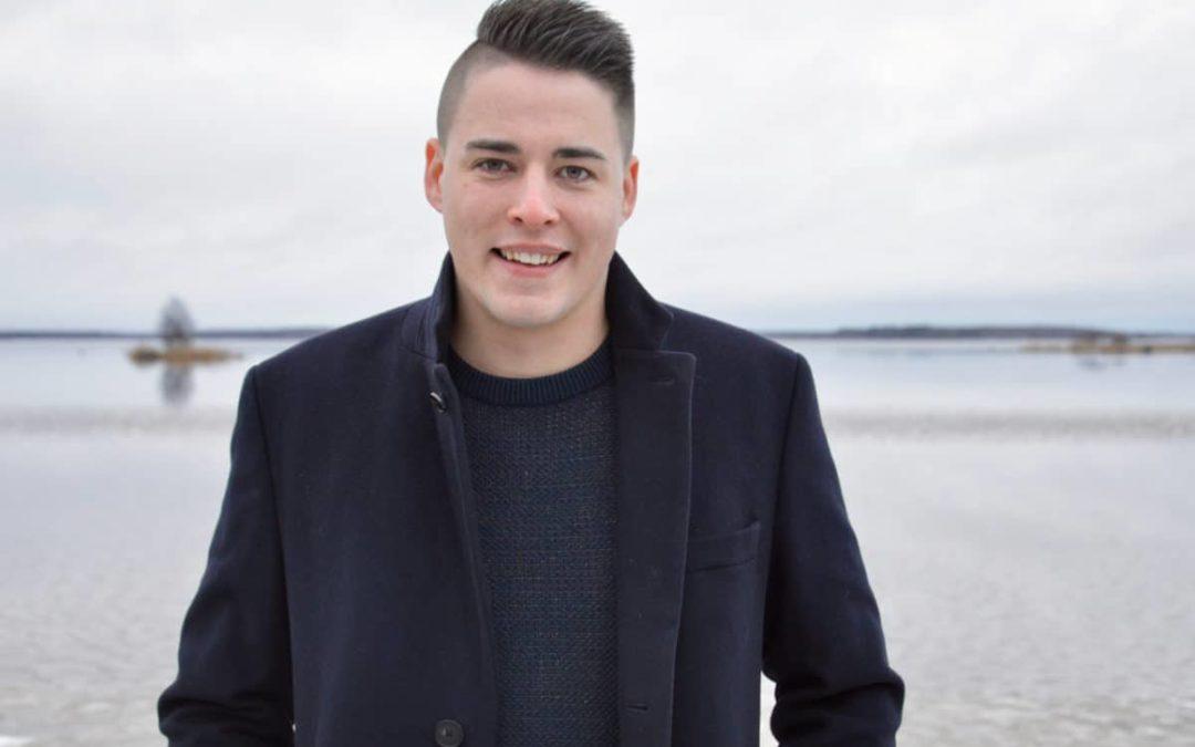 Christoffer Ingo ställer inte upp till omval som Svensk Ungdoms förbundsordförande