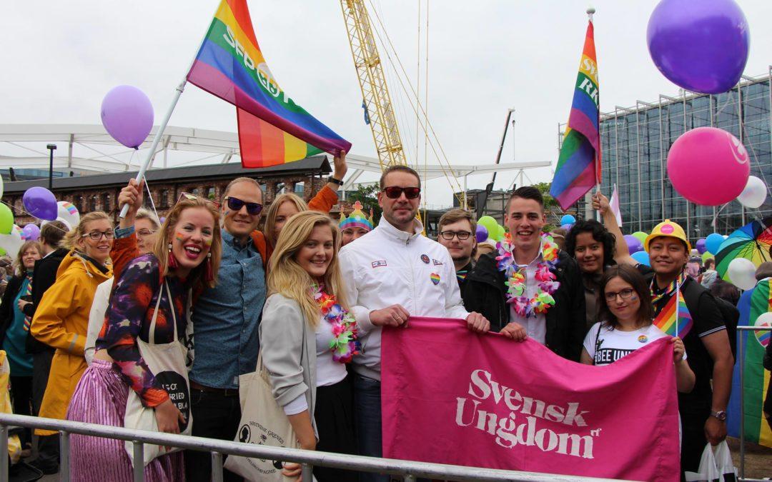 SU, SFP & SvKf goes Helsinki Pride 2019!