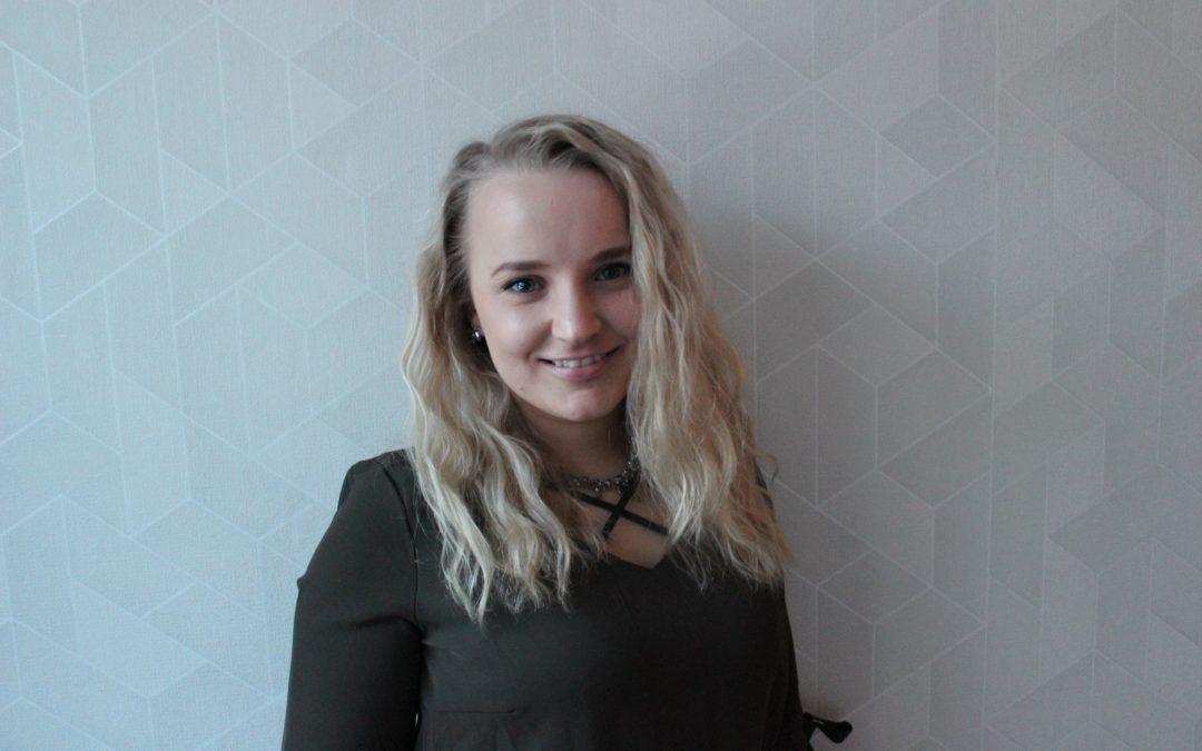 Karolina Virta är SU i Österbottens nya verksamhetsledare