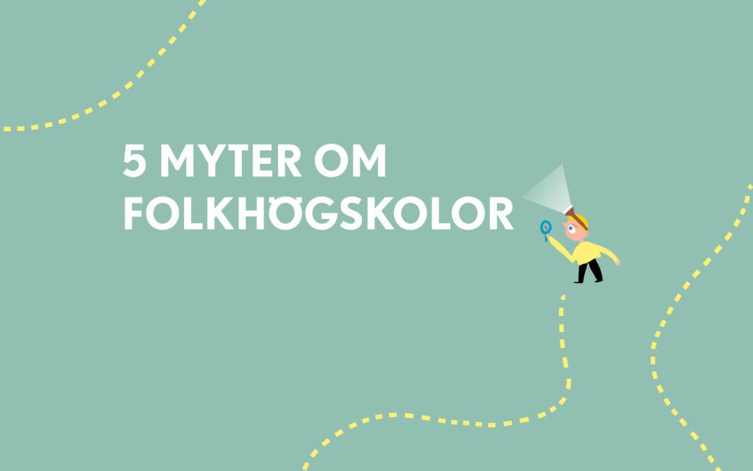 5 myter om folkhögskolor