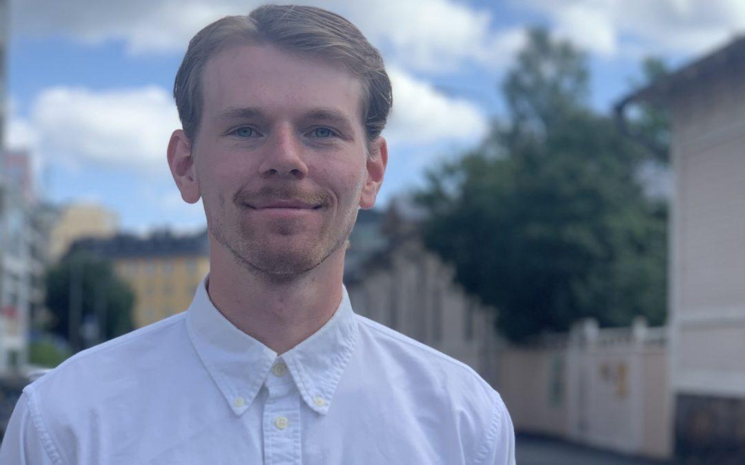 Eddie Myrskog är ny projektkoordinator för FSS och SU!