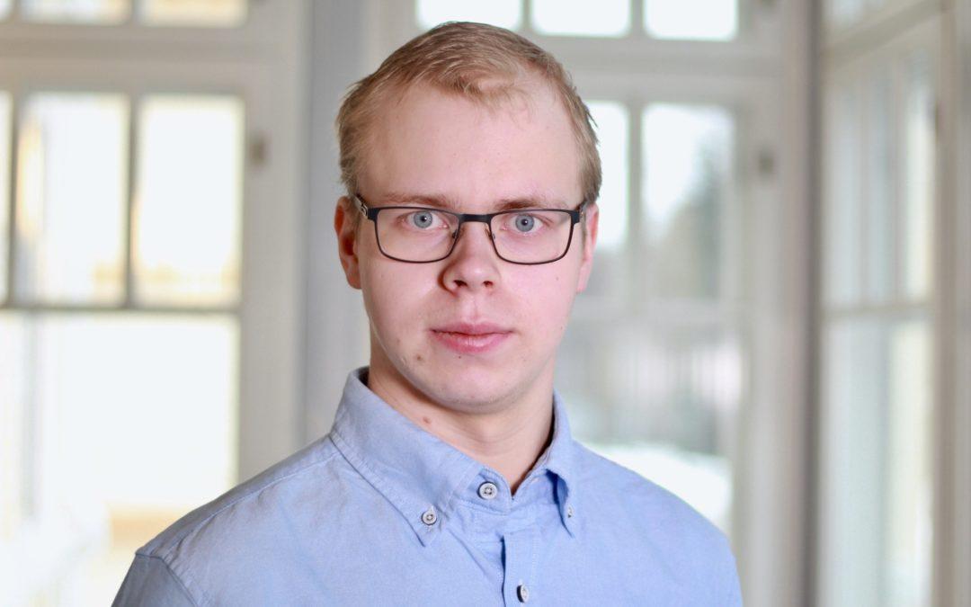 Anton Broända vill sitta i SU:s förbundsstyrelse