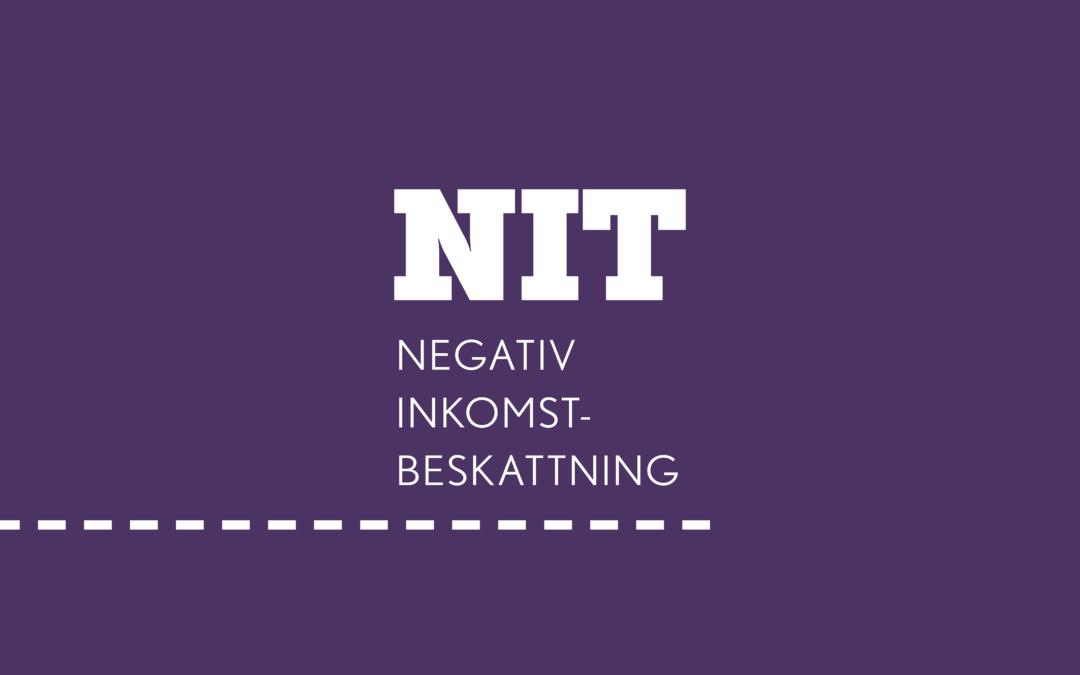 NIT – Negativ inkomstbeskattning