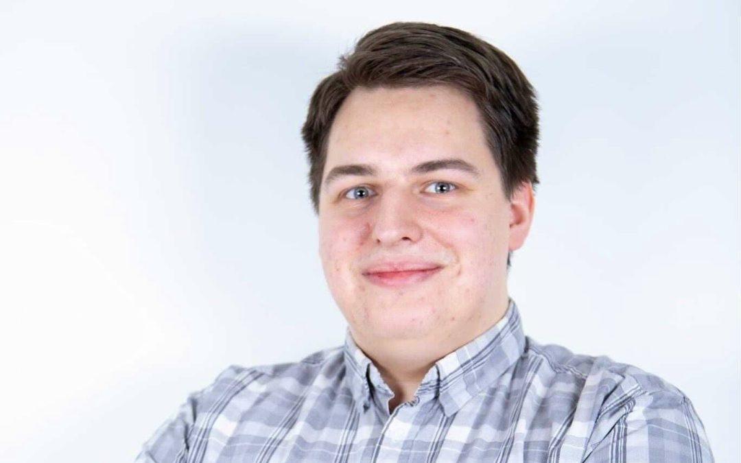 Nicholas Kujala ställer upp för omval som vice ordförande för Svensk Ungdom
