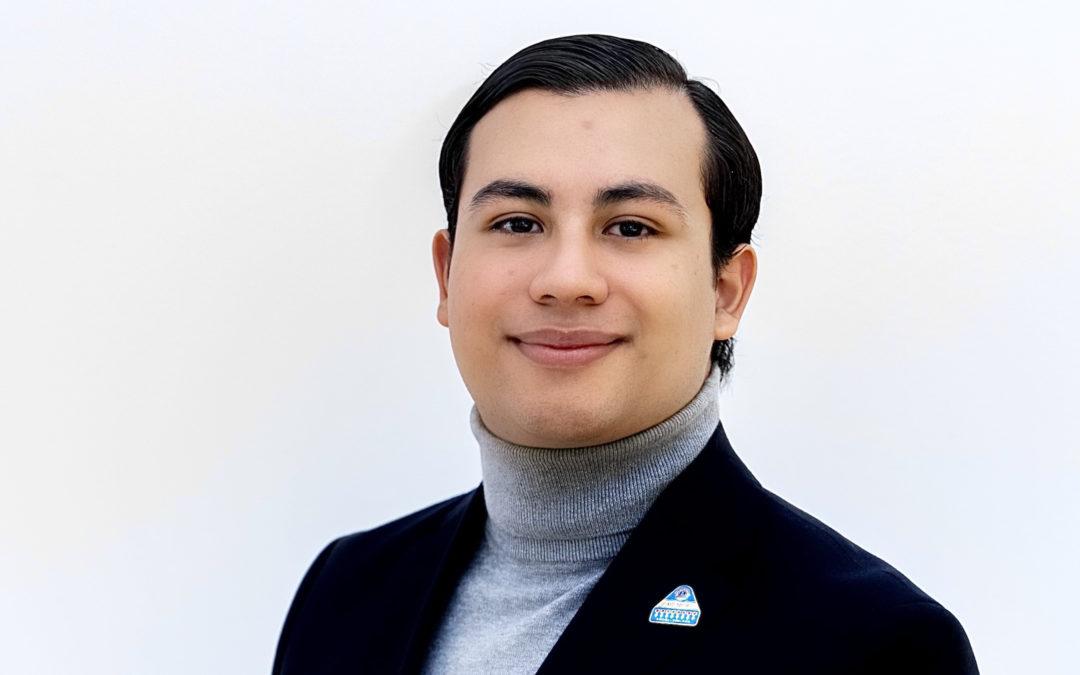Andree Martinez, 21 – Styrelsekandidat
