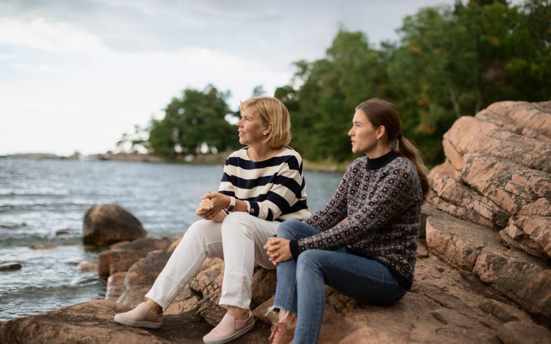 Vad har du lärt dig av unga personer, Anna-Maja Henriksson?