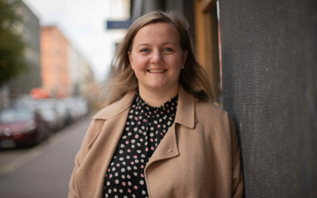 Veera Julin är SU i Åbolands vikarierande verksamhetsledare