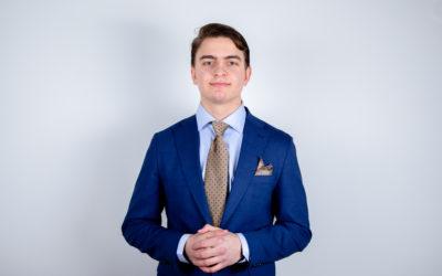 Morris Liemola ny kretsordförande för Svensk Ungdom i Helsingfors och övriga Finland
